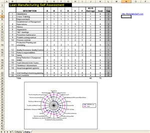 six sigma lean assessment