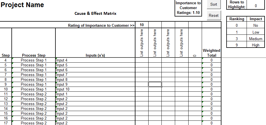 Haccp Checklist Template For Microsoft Excel