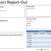 DMAIC Project Report Template 100×100
