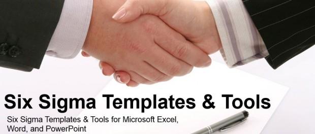 Six Sigma Templates & Tools